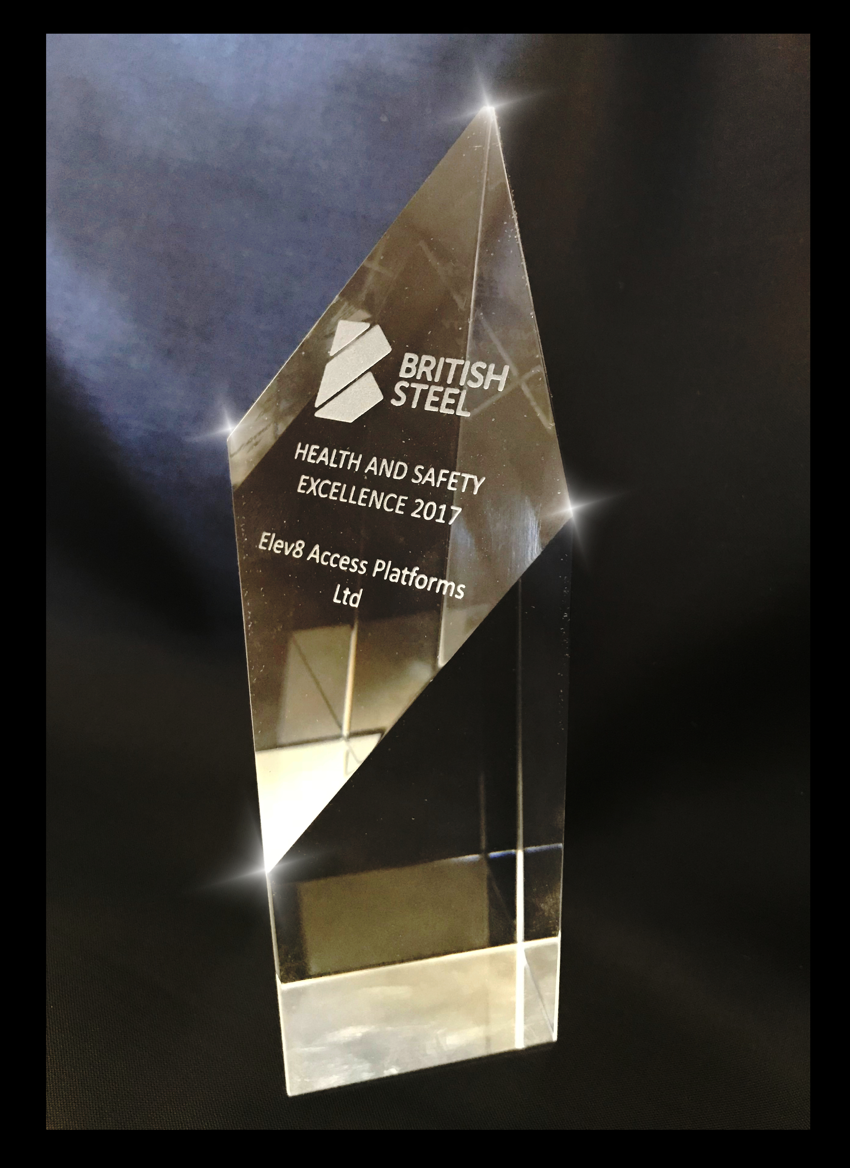 Safety award winning access platform company
