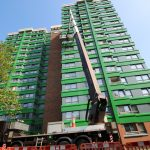 HIgh rise building cladding replacement from a MEWP